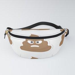 Poop emoji Fanny Pack