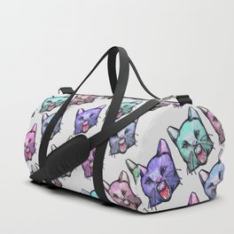angry cats Duffle Bag