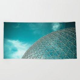 Biosphère Beach Towel