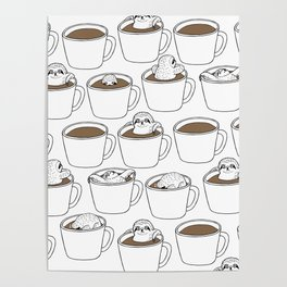 More Coffee Poster