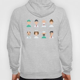 We Love All Doctors Hoody