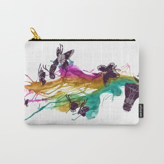 Follow the Colors Carry-All Pouch