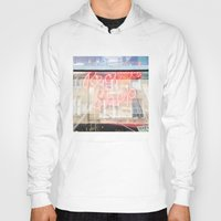 record Hoodies featuring Record shop by RMK Creative