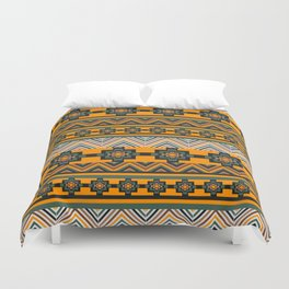 Brown rustic decor Duvet Cover