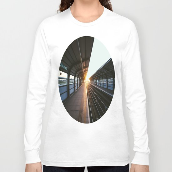 The light at the end of the tunnel Long Sleeve T-shirt
