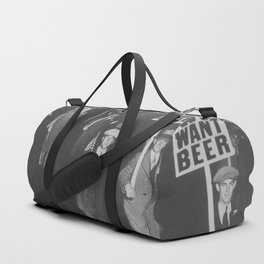 We Want Beer Duffle Bag