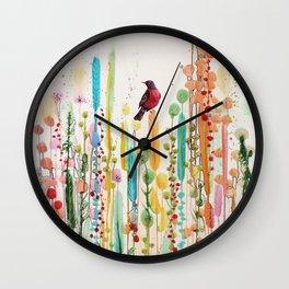 toujours le jour se leve Wall Clock
