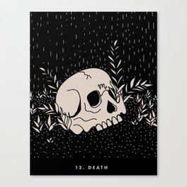 13. DEATH Canvas Print