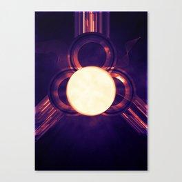 PONG #3 Canvas Print