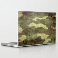 camo Laptop & iPad Skins featuring Dirty Camo by Bruce Stanfield