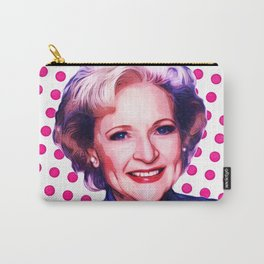 Betty White - Pop Art Carry-All Pouch