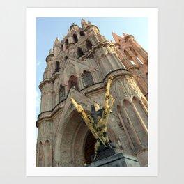 Church of San MIguel de allende II Art Print