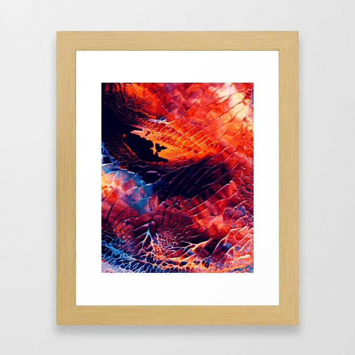 Above Framed Art Print