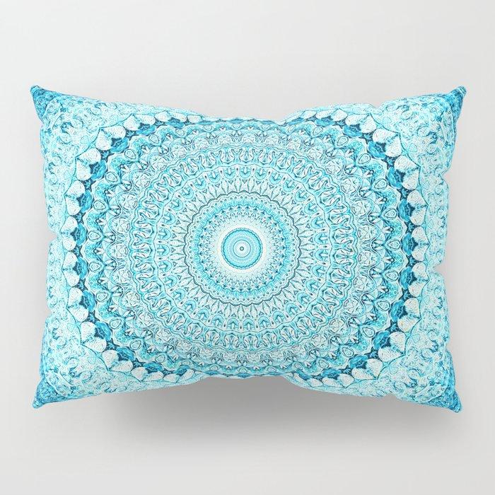 Coastal Spray Mandala Pillow Sham