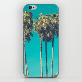 A Few Turquoise Palms iPhone Skin
