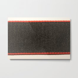 Dariusz Stolarzyn Digital Black Red and White Metal Print