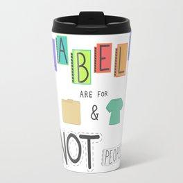 Labels Travel Mug