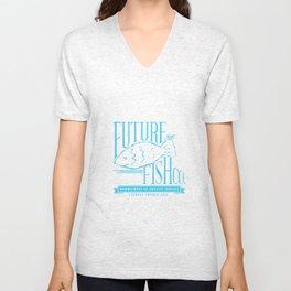 FUTURE FISH CO. Unisex V-Neck