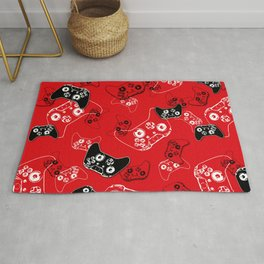 Video Game Red Rug