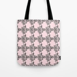 Soft pink ornament Tote Bag