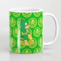 hydra Mugs featuring MU Pony Bob Hydra by AbigailC