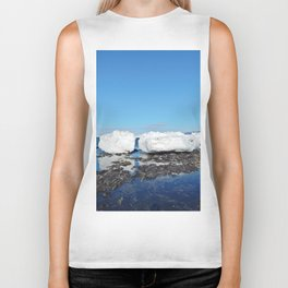 Icebergs Beached by the tides Biker Tank