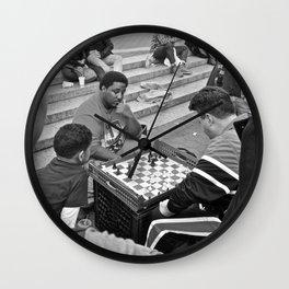 The Showdown (Part 4: NYC) Wall Clock