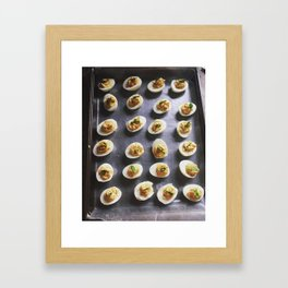 Deviled Framed Art Print