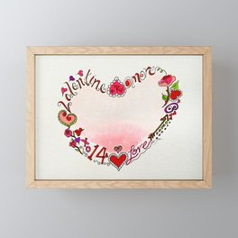 Amore Framed Mini Art Print