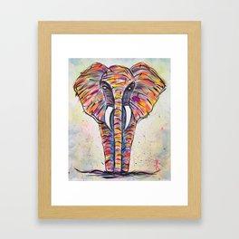 el elefante Framed Art Print