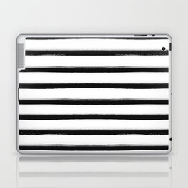 Stripes, Scandinavian, Minimal, Pattern, Modern art Laptop & iPad Skin
