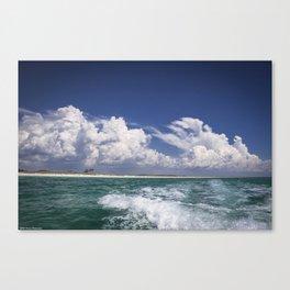 Emerald Coast  Canvas Print