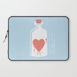 Let the LOVE Out Laptop Sleeve