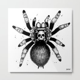 The crawling death Metal Print