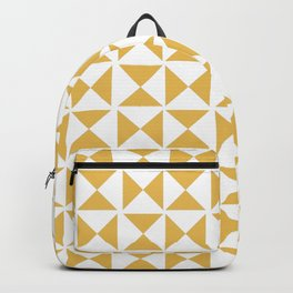 Mustard yellow Mid century Backpack