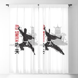 Kung Fu Blackout Curtain