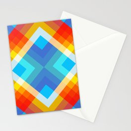 Retro Pattern 09 Stationery Cards