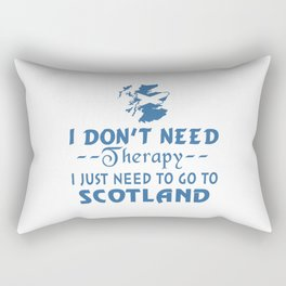GO TO SCOTLAND Rectangular Pillow