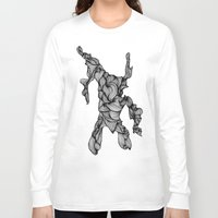 doodle Long Sleeve T-shirts featuring Doodle by Jessica Stevens