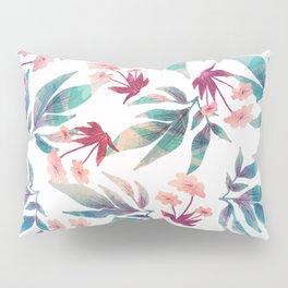 exotic leaf pattern floral Pillow Sham