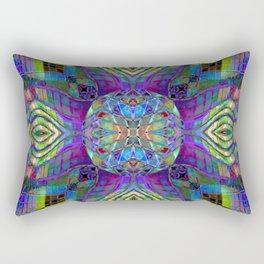Kaleidoscopic Muse Rectangular Pillow