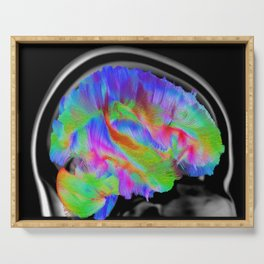 Brains in Color Serving Tray