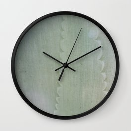 Agave Aglow Wall Clock