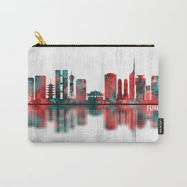 Fukuoka Japan Skyline Carry-All Pouch