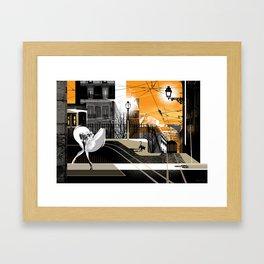 Lisbon at Dawn Framed Art Print