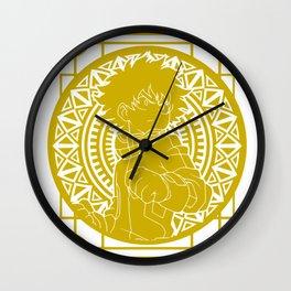 Stained Glass - My Hero Academia - Izuku Midoriya Wall Clock