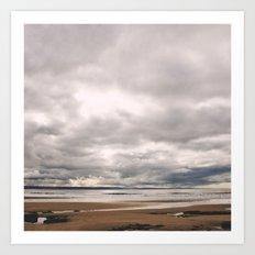 Dunraven Bay Art Print