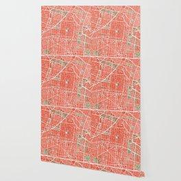 Mexico city map classic Wallpaper