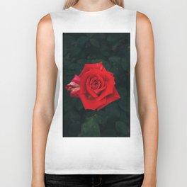 Red rose Biker Tank