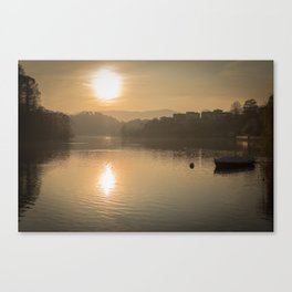 Sunset in my heart Canvas Print
